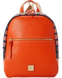 Dooney & Bourke Ncaa Auburn Backpack - Orange