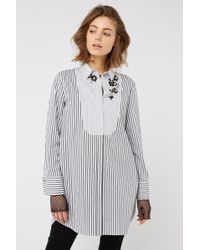 Dorothee Schumacher - Sparks On Stripes Blouse 1/1 - Lyst