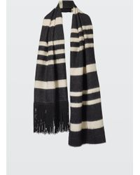 Dorothee Schumacher - Striped Sensation Stripe Scarf With Beaded Fringe - Lyst