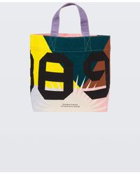 Dorothee Schumacher - Cool Confidence 1989 Print Canvas Tote - Lyst
