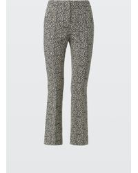 Dorothee Schumacher - Alter Ego Pants Cropped Flared - Lyst