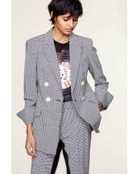 Dorothee Schumacher - Bold Vichy Jacket Sleeve 1/1 - Lyst