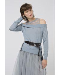 Dorothee Schumacher - Soft Surprise Pullover O-neck 1/1 - Lyst