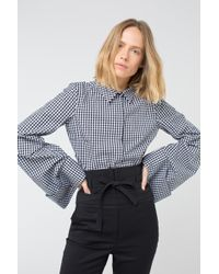Dorothee Schumacher - Vichy Perfection Blouse 1/1 - Lyst