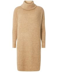 Dorothy Perkins - Only Camel Cowl Neck Tunic - Lyst