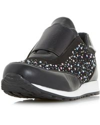 Dorothy Perkins - Head Over Heels By Dune Black 'emie' Trainers - Lyst