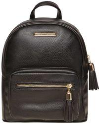 Dorothy Perkins - Black Zip Around Backpack - Lyst