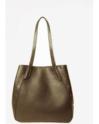 Dorothy Perkins - Pieces Khaki 'kimberly' Bag - Lyst