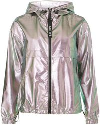 Dorothy Perkins - Only Silver Hooded Parka Coat - Lyst