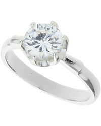 Dorothy Perkins - Large Sparkle Ring - Lyst
