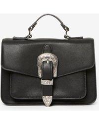 Dorothy Perkins - Pieces Black 'faustine' Cross Body Bag - Lyst