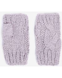 Dorothy Perkins - Lilac Fingerless Gloves - Lyst
