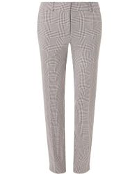 Dorothy Perkins Womens **Tall Check Print Ankle Grazer Trousers- Clearance Cheap Store Sale Online Top Quality Free Shipping Amazon High-Quality Cheap 7EOVDA9