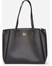 a5b68869af Dorothy Perkins Black Slouch Side Tote Bag in Black - Lyst
