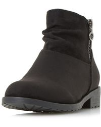 Dorothy Perkins - Head Over Heels By Dune Black Perci Ankle Boots - Lyst