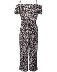 8ae7062e5ec1 Dorothy Perkins - Izabel London Multi Colour Floral Print Jumpsuit - Lyst