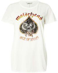 Dorothy Perkins   Only Black Motorhead Boxy T-shirt   Lyst