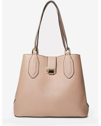 Dorothy Perkins - Blush Tab Detail Workwear Tote Bag - Lyst