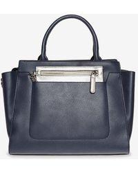 Dorothy Perkins - Navy Winged Workwear Tote Bag - Lyst