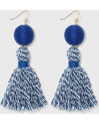Draper James - Spirit Tassel Earrings - Lyst