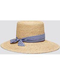 Draper James - Straw Hat - Lyst