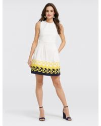 Draper James - Climbing Bloom Embroidery Dress - Lyst