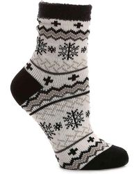 Sof Sole - Snowflake Slipper Socks - Lyst