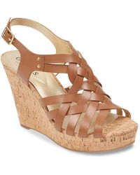 Guess - Eppie Wedge Sandal - Lyst