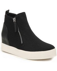 Steve Madden - Loxley Wedge High-top Sneaker - Lyst