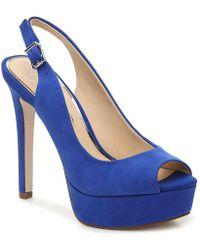 Jessica Simpson Bisano Platform Pump - Blue