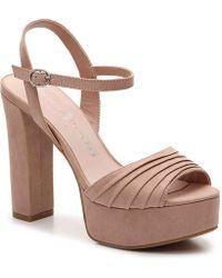 Chinese Laundry - Allie Platform Sandal - Lyst