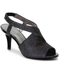 Bandolino - Malorie Wishbone Glitter Sandal - Lyst