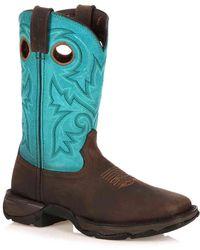Durango - Steel Western Cowboy Boot - Lyst