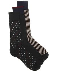 Cole Haan - Dot Dress Socks - Lyst