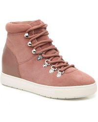 96bdb26b080 Lyst - Steven by Steve Madden High Top Sneakers - Exitt in Brown