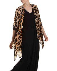 Steve Madden - Leopard Kimono - Lyst