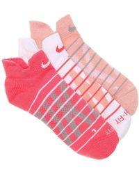 Nike - Graph No Show Socks - Lyst