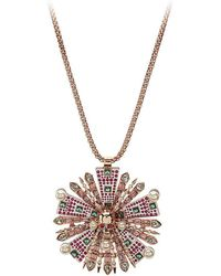 Betsey Johnson - Sunray Pendant Necklace - Lyst