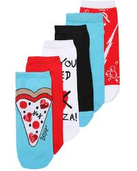Betsey Johnson - Pizza No Show Socks - Lyst