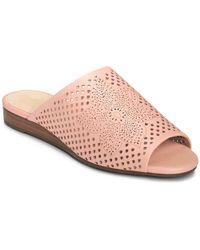 Aerosoles - Bitmap Slide Sandals - Lyst