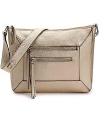 Perlina - Drew Leather Convertible Crossbody Bag - Lyst
