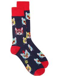 Sock It To Me - Gato Libre Crew Socks - Lyst