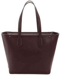 Cole Haan - Zip Leather Tote - Lyst