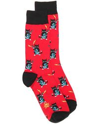 Sock It To Me - Cat Band Crew Socks - Lyst