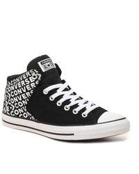 54807de2dff1 Converse - Chuck Taylor All Star Hi Street Word High-top Sneaker - Lyst