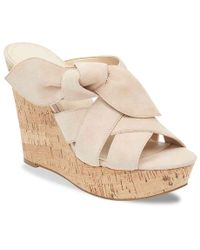 Marc Fisher - Hobby Wedge Sandal - Lyst