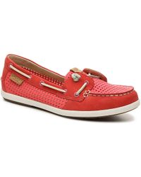 b30909055396 Lyst - Sperry Top-Sider Coil Ivy Sparkle in Pink