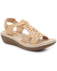 White Mountain Footwear - Cruz Wedge Sandal - Lyst