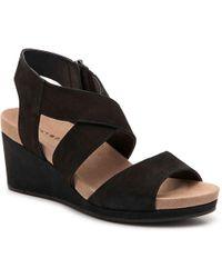 Lucky Brand - Kakina Wedge Sandal - Lyst