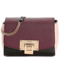 Lyst - ALDO Elroodie Crossbody Bag in Metallic dfbb5661c9237